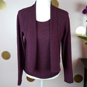 EILEEN FISHER Matching Sweater and Tank Set